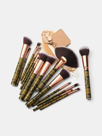 15 Pcs Makeup Tools Set