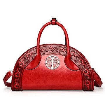 Sacchetto di spalla classico della borsa della borsa di stile nazionale Shell