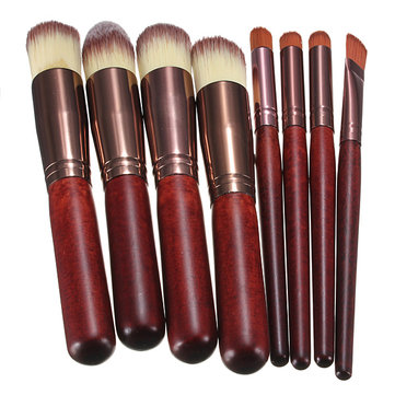 8 Pcs Professional Makeup Brushes Tool Cosmetic Brush Foundation Eyeshadow Set