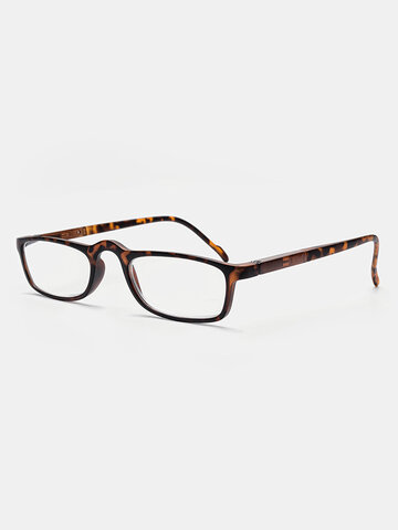 3 Color Clipped Plastic Frame Reading Glasses
