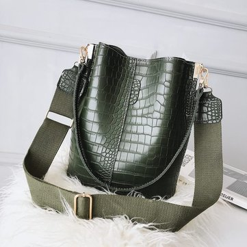Women High-capacity Bucket bag Handbag Shoulder Bag