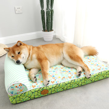 Pet Dog Deep Sleep Sofa Bed Removable Cat Litter Pet Bed