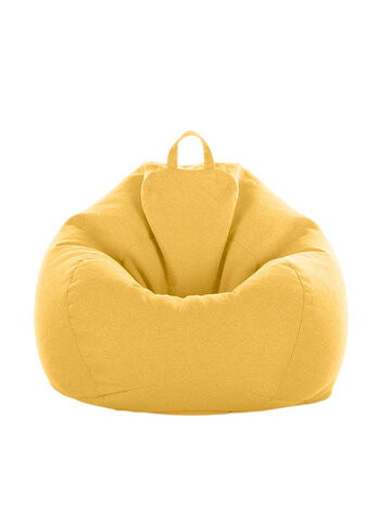 80x90cm Indoor Linen Bean Bag Chairs Cover