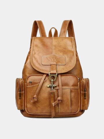 Vintage Multi-Carry Anti theft Multifunction Waterproof Casual Backpack