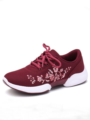 Knitted Lightweight Breathable Casual Sneakers
