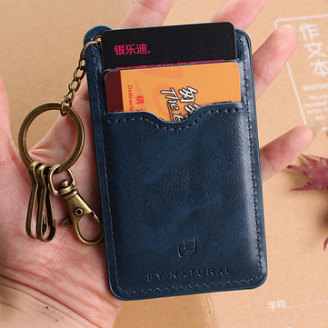 PU Vintage Card Holder