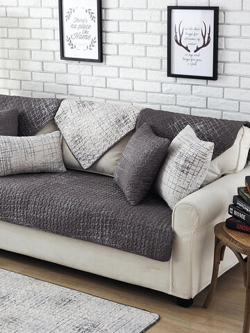 100% Cotton Nordic Style Sectional Sofa Cover