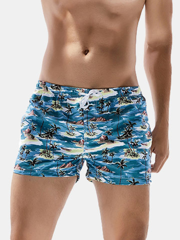 Männer Hawaiian Printing Board Short