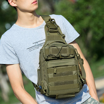 Nylon Camouflage Portable Multifunction Tactic Crossbody Bag