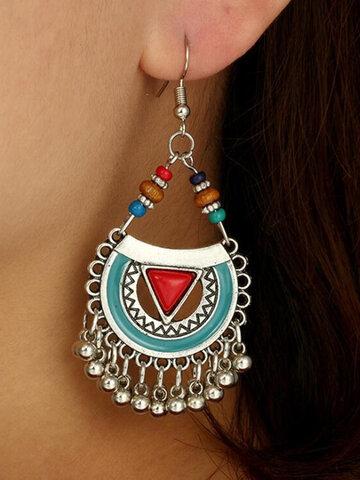 Vintage Tassel Pendant Earrings