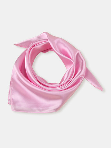 Scarf Silk Headband Small Neckerchief Head Neck
