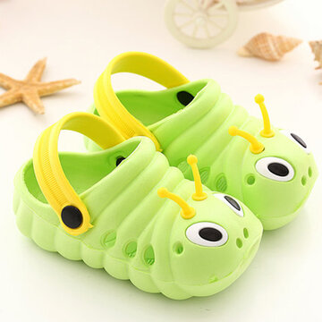 Unisex Kids Comfy Non Slip Closed Toe Hole Garden Water Shoes
