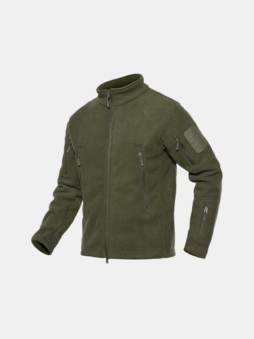 Fleece Soft Shell Tactical Jacket
