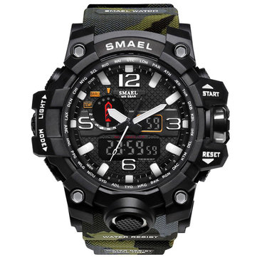 SMAEL Camouflage Digital Watch