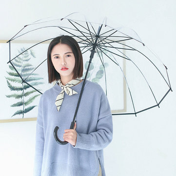 Portable Transparent Automatic Umbrella