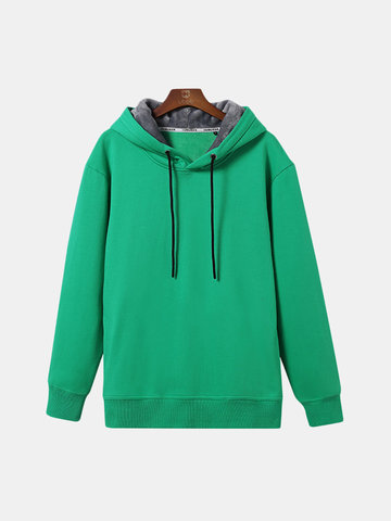 Thicken Warm Hooded Pullovers