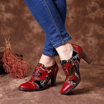 Stylish Bloom Flowers Pumps