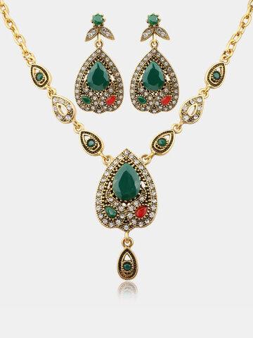 Luxury Water Drop Jewelry Set