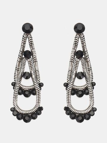 JASSY® Steampunk Double Layer Earrings