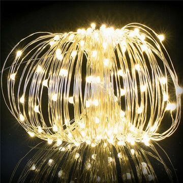 20M 200LED Solar Powered String Fairy Lights Christmas Wedding Party Home Decoration фото
