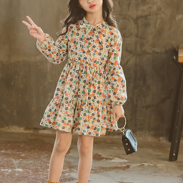Flower Girls Casual Dress For 4Y-15Y