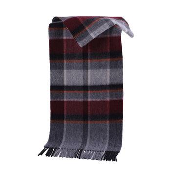 Plaid Scarf Neckwear Wool Scarf Soft Shawl