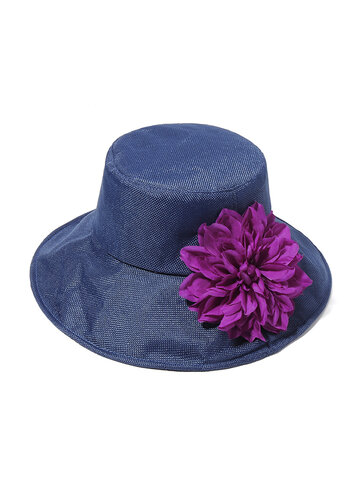 Womens Vintage Foldable Hat
