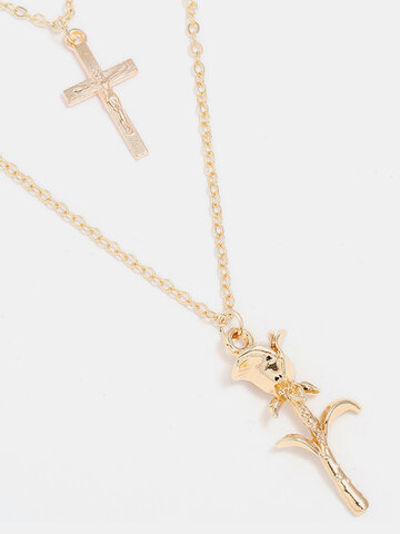 Fashion Multilayer Chain Necklace