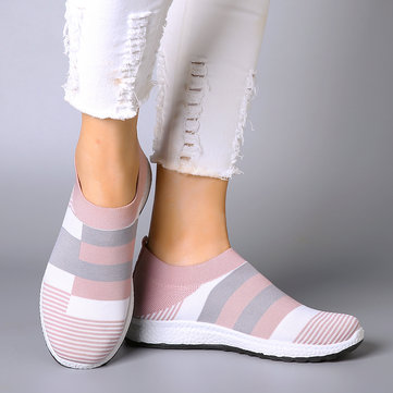 Mesh Slip On Footwear Socks Shoes