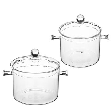 1.5 1.7L Glass Cooker