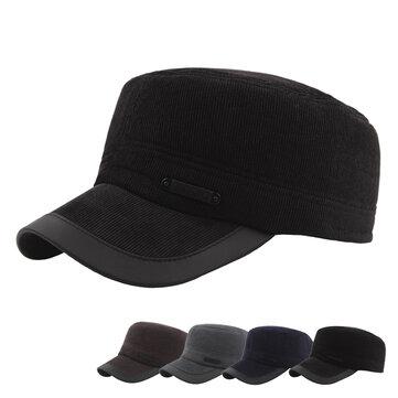 Winter Protect Ear Flat Cap