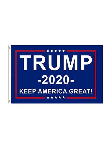 90 * 150 سم علم ترامب 2020 علم الحملة