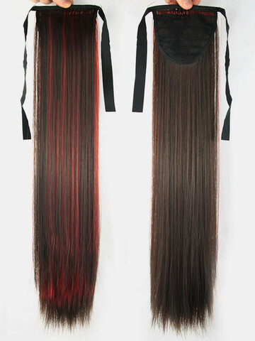 6 Colors Bleaching-Dyeing Ponytail