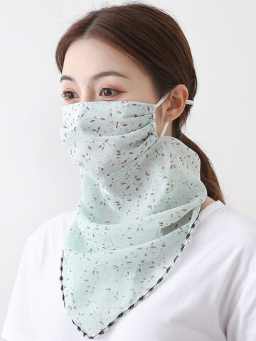 Sunscreen Scarf Mask Breathable Quick-drying Face Mask