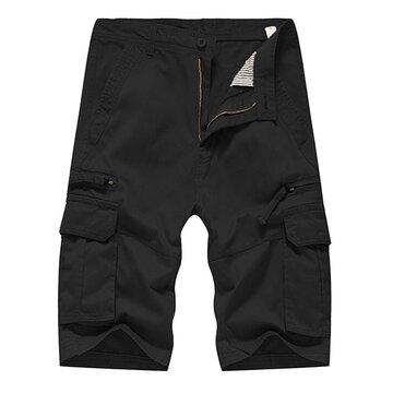 Breathable Multi-pocket Casual Cargo Shorts