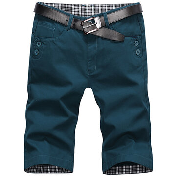 SummerCotton Knee Length Cargo Shorts