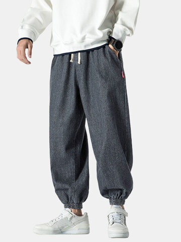 Wash Solid Color Jogger Jeans