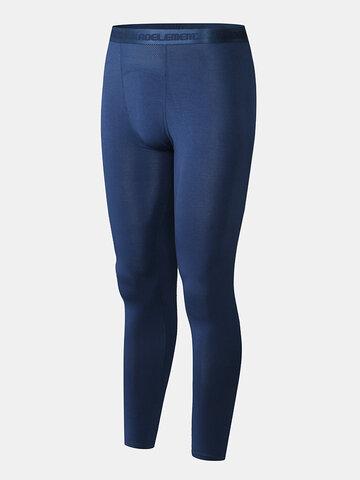Thin Breathable Seamless Thermal Pants