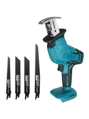 3000RPM/min Cordless Electric Reciprocating Saw Outdoor Saber Saw Kit For Makita 18V Battery 100mm/2mm (Battery not included)