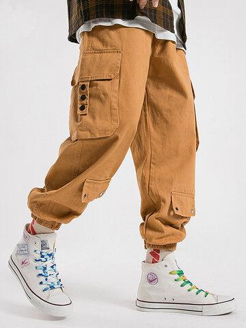 Utility Cuffed Cargo Pants