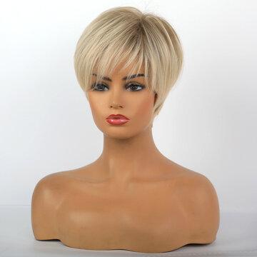 10 Inch Short Straight Wigs