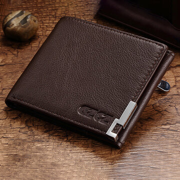 Men Genuine Leather Card Holder