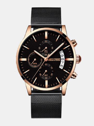 BELUSHI montres à quartz de luxe pour hommes