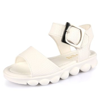 Girls Solid Color Non Slip Comfy Sandals
