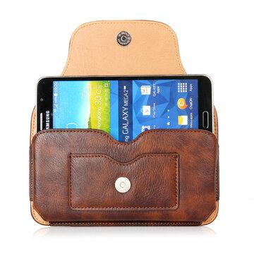 Carteira de Couro Real Bolsa Para Telefone Bolsa de Cintura Carteira Para Cartões e Telefone