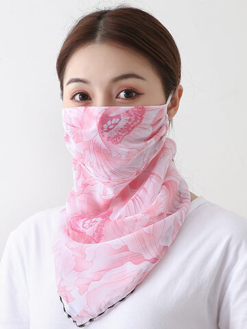 Ear-mounted Scarf Outdoor Breathable Riding Face Mask