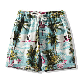 Casual Printed Boys Shorts For 2-9Y