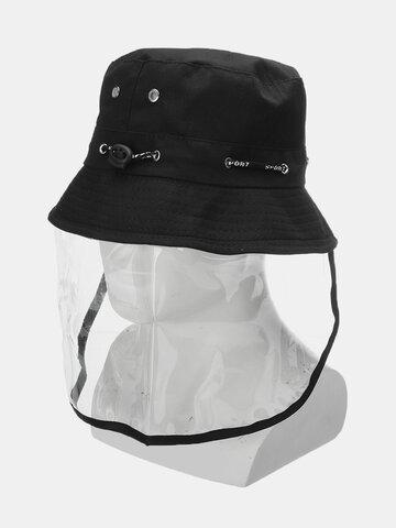 Anti-spitting Protective Mask Hat Fisherman Full Face Cap