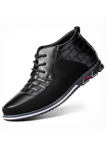 Men Business Casual Ankle Boots