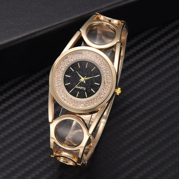 Trendy Diamond Alloy Watch